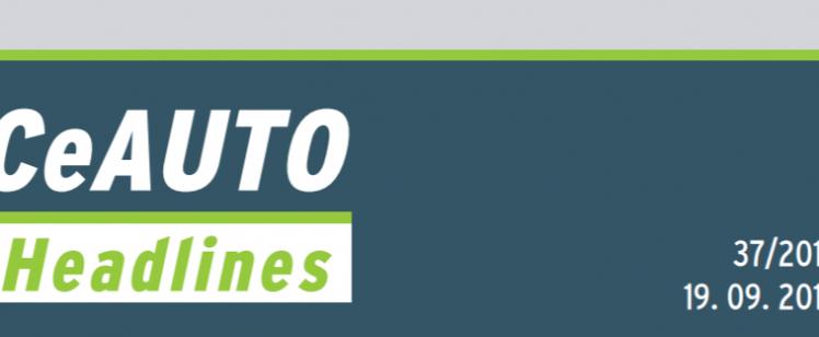 CeAUTO Headlines 2018.09.19